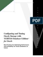 Oracle with Veritas Dbed22 Best Practices Paper