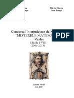 Carte Misterele Matematicii