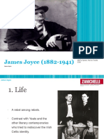 James Joyce Summary