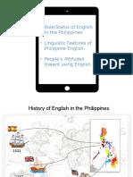 Philippine English Pres