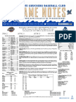 8.22.17 vs. MOB Game Notes