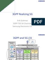 2. 3GPP Realizes 5G -3GPP SA Chairman
