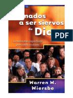 Warren w. Wiersbe - Llamados a Ser Siervos de Dios