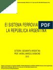 Trenes en Argentina Geografo Mignone Power Point