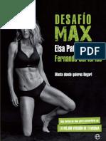 Desafío Max - Elsa Pataky