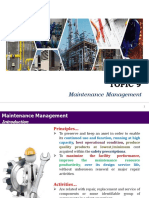 T9 Maintenance Management