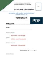 Formato Practicas Preprofesionales Topografia