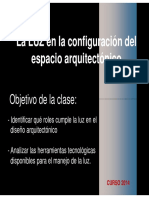 Arquitectura y Luz 2014