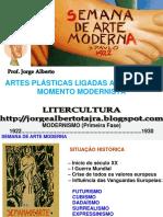 Historia Da Arte - Modernismo Primeira Geração