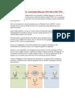 Implementar VPN Punto a Punto Windows Server 2012