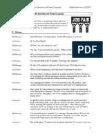 topic 7- job fair english