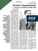 Ko je bio Milivoj Čudomirović – Sremski učitelj, pčelar i književnik (1868-1906) - Mikica Ilić