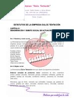 estatutosdelaempresadulcetentacin-131209165335-phpapp01