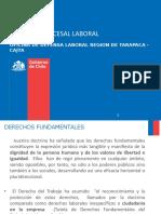 CLASES DERECHOS FUNDAMENTALES, LIBERTAD SINDICAL Y NEGOCIACION COLECTIVA U STO TOMAS.ppt