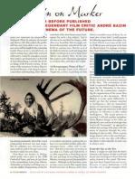 Andr' Bazin - On Marker.pdf