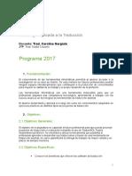 Programa 2017 Tecnología