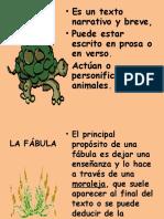 LA FÁBULA