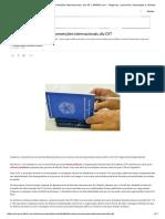 Reforma Trabalhista Viola Convenções Internacionais, Diz OIT _ EXAME