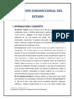 LA FUNCIÓN JURISDICCIONAL DEL ESTADO