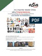 Curso Como Importar Desde China Para Emprendedores 14 y 15