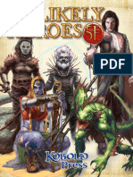 Unlikely Heroes 5E