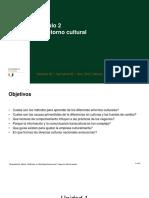 2.1 El Entorno Cultural