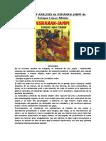 Resumen y Análisis de Ushanan Jampi de Enrique López Albújar