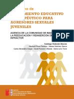 Tratamiento Eductaivo y Terapéutico para agresores sexuales juveniles.pdf