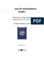 Manual Matematica Kinder ASTORECA 2015