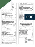 menu nuevo