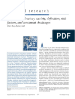 Treatment Refractory Anxiety Definition Risk Factors and Treatment Challenges