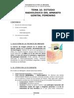 Radiológico Del Aparato Genital Femenino