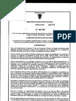 Acuerdo Min Educacion Lenguaje de Señas