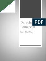 Derecho Comercial Profesor Rafael Gómez Prueba