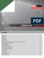Sanli Complete Spare Parts Catalogue
