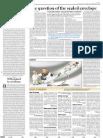sealed envelop article hindu