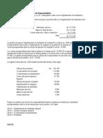 Ejercicios de Contabilidad de Costos (Asignación 2).
