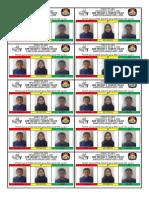SURAT SUARA Pemilihan Ketua OSIS
