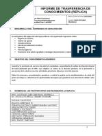 Informe de Capacitacion 26-01-2017