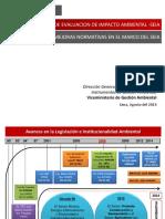 MB SEIA PPT Propuestas y Mejoras Normativas en El Marco Del SEIA