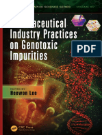 Heewon Lee Pharmaceutical Industry Practices on Genotoxic Impurities