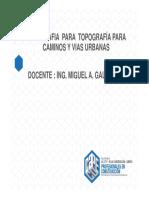 Clase Ii_topografia Para Caminos 2017_i