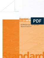 Standard ECMA-262 ECMAScript Language Specification