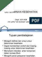 2. Dsr2ikm-Determinan Kesehatan
