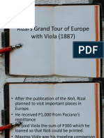 Rizal's Grand Tour of Europe with Viola (.pptx