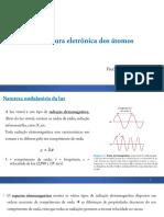 Aula 3 - Modelo Atual e Distribuição Eletrônica