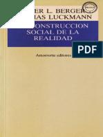 105 - La Construccion Social de La Realidad