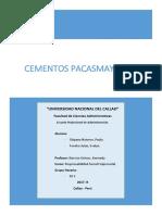 Relación de La Organización Con Sus Empleados. _ Pacasmayo.