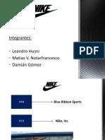 Presentación Nike