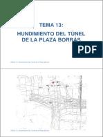 Apuntes Tema_13 Hundimiento Del Tunel de La Plaza Del Borrás